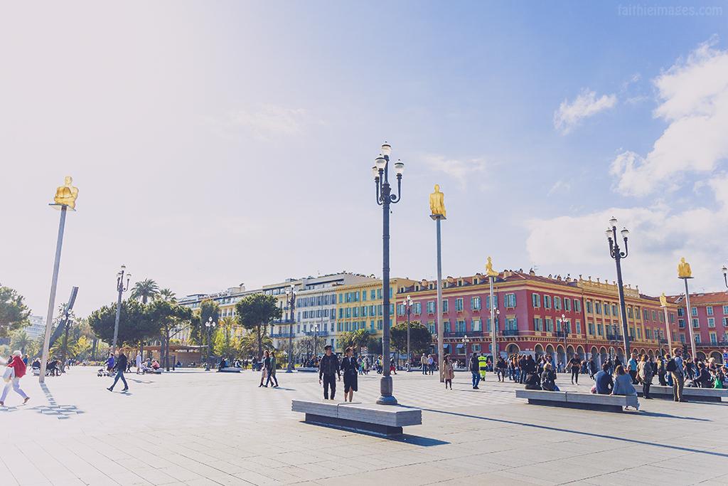 Nice's city centre