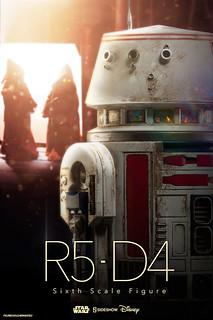 Sideshow Collectibles【R5-D4 機器人】星際大戰 1/6 比例作品