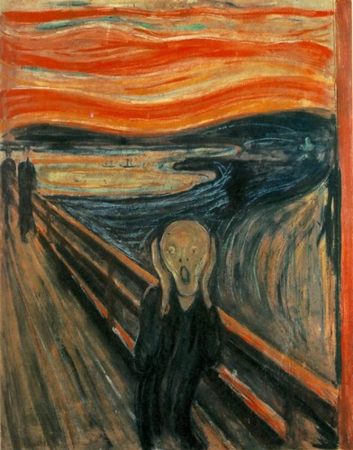 The Scream -- Edvard Munch -- 1893