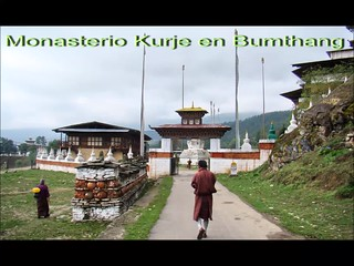 Butan Monastrios Kurje y Jambey