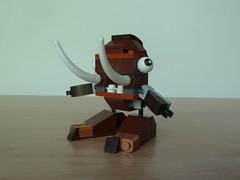LEGO MIXELS FANG GANG MOC Fan Made