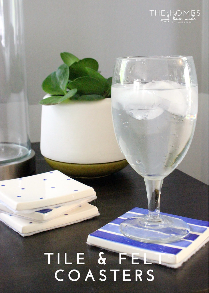 Hits and Misses Home Decor - Tile Coasters