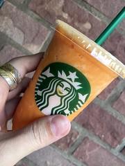 Mango Passion Tea Frappuccino®