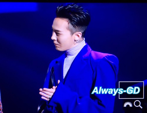 Big Bang - The 5th Gaon Char K-Pop Awards - 17feb2016 - Always GD - 10
