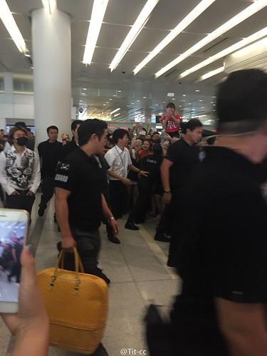 BIGBANG GDTOPDAE arrival Hangzhou 2015-08-25 123