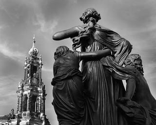 Dresden-Catholic Church.