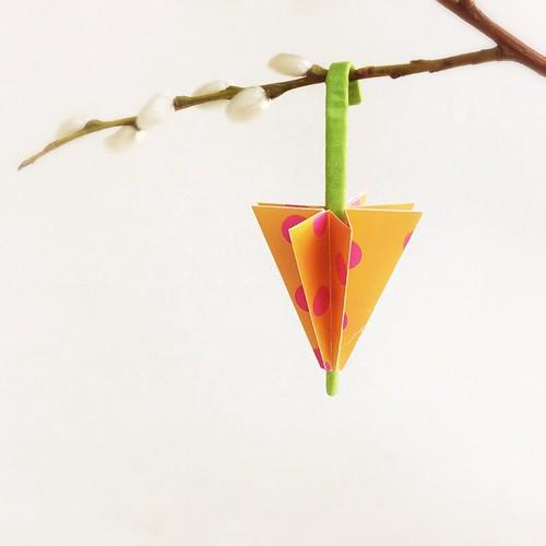 Origami Umbrella by Paperaria