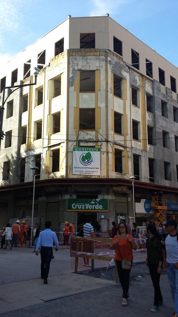 Gran Concepción Proyectos De Edificación Y Avances De La