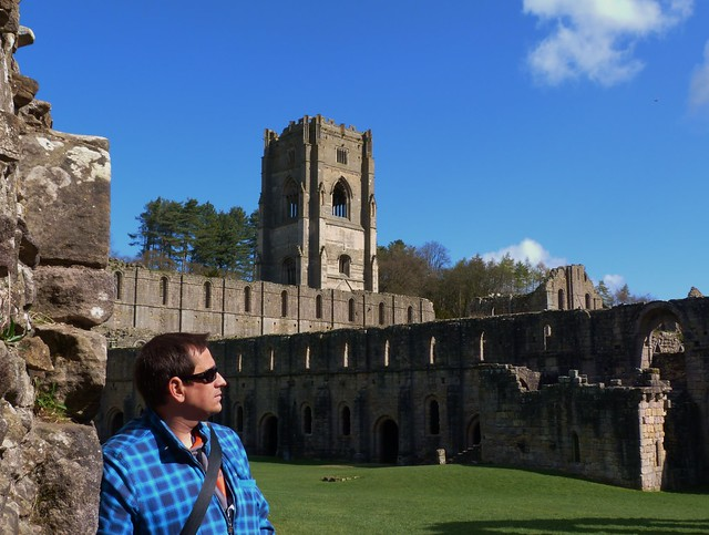 Sele en Fountains Abbey (Yorkshire, Inglaterra)