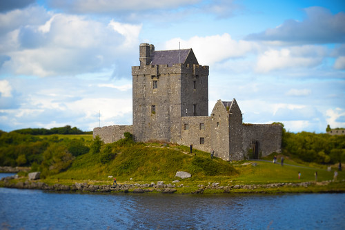 Dunguaire Castle - Kinvarra Ireland - County Galway