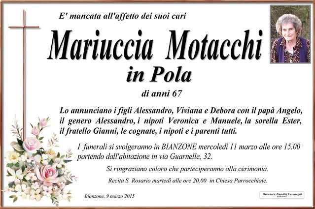 Motacchi Mariuccia