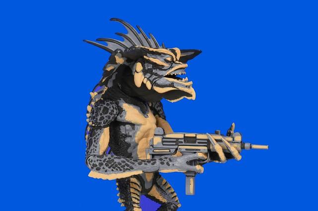 NECA 小精靈2【龐克頭魔怪】Mohawk 7 吋電玩造型作品