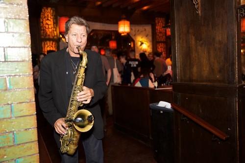 Roaming saxophonist, Richie Cannata_Photo Credit Thrillist