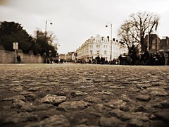 Match Day in Cardiff: car free streets