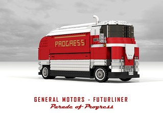 General Motors Futurliner - Parade of Progress (Harley Earl - 1950)