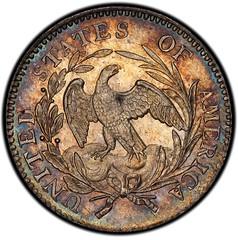 1796 Draped Bust Dime reverse