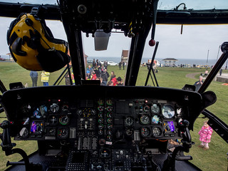 Last visit of the Sea King, Whitby 15-03-2015