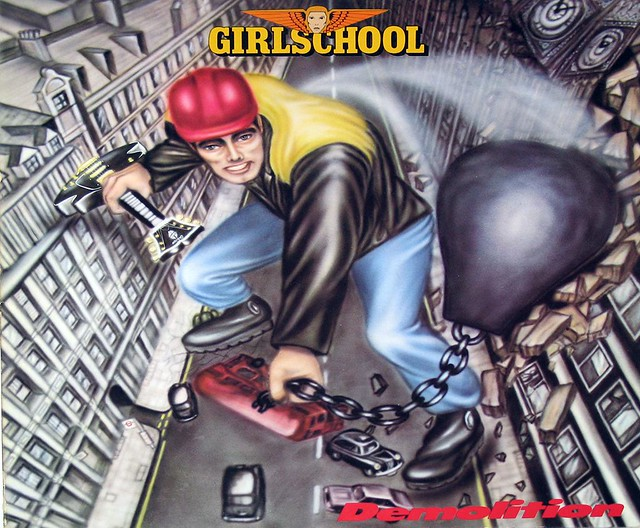 "GIRLSCHOOL DEMOLITION NWOBHM 12"" Vinyl LP"