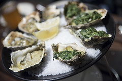 Grilled Oyster, Hog Island Oyster Co., Ferry Building Marketplace, San Francisco