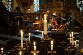 stockholm live recordind inside a church