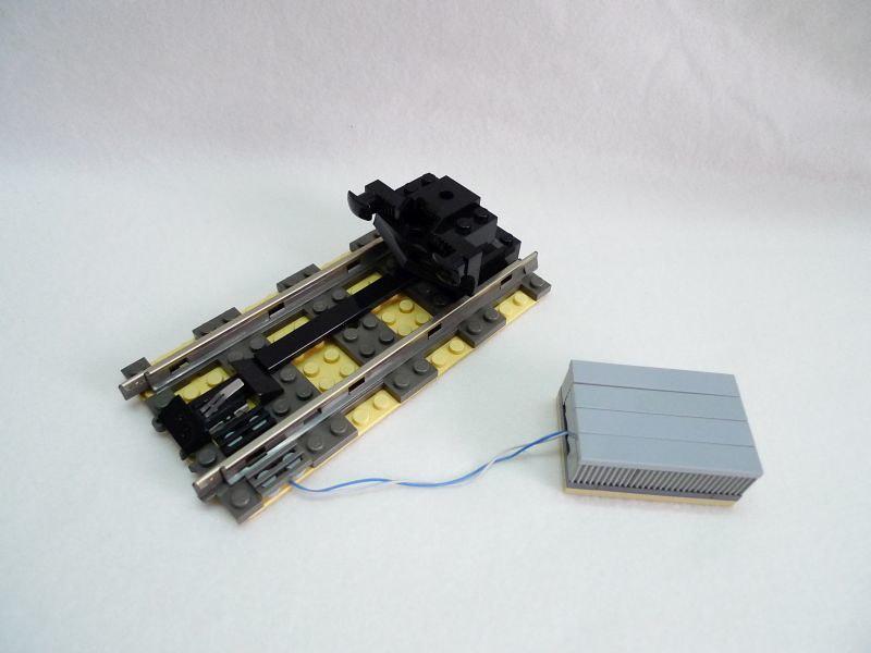 Arduino automated lego railcar train tech