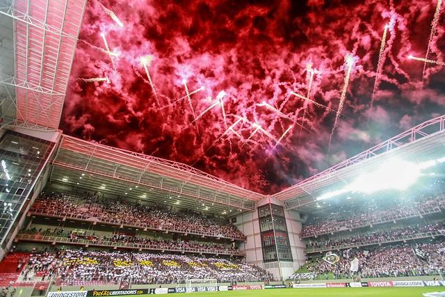 Atlético x Santa Fé 09.04.2015 - Copa Libertadores 2015