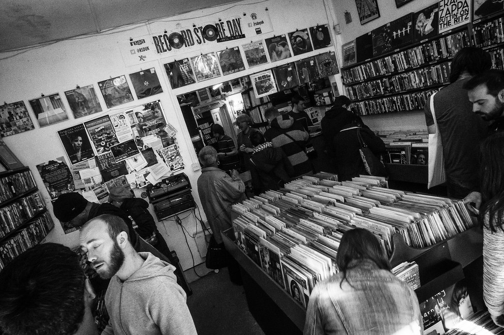 Record Store Day Walk: Flashback Records in Crouch End