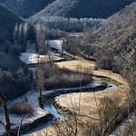 Mraz u dolini rijeke Mirne