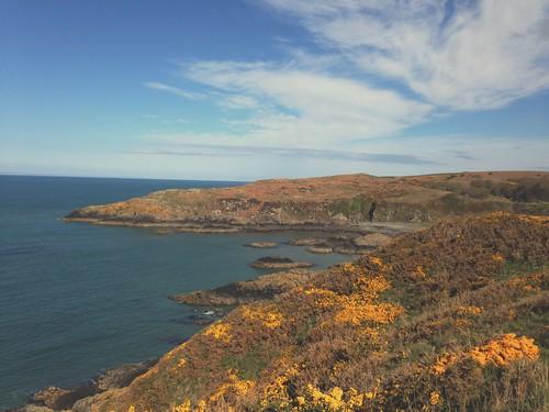 Scotland #portpatrick #scotland #sea #irishsea #cardio