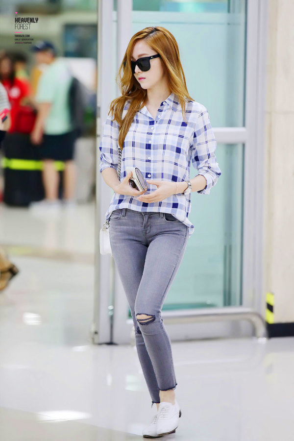 My Favourite 10 Airport Looks By Jessica Jung Jessica