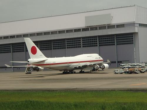 日本政府専用機 - naniyuutorimannen - 您说什么!