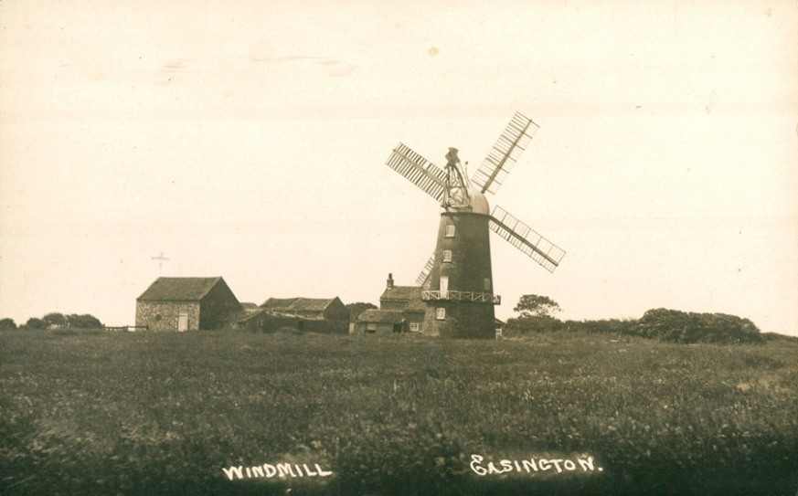 Easington Windmill 1905 (archive ref PO-1-36-1)