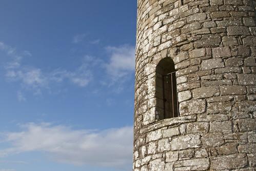 Meelick Round Tower door