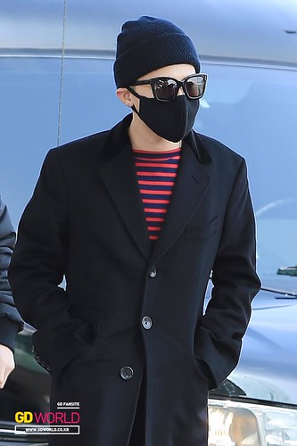 Big Bang - Incheon Airport - 01apr2015 - G-Dragon - GD World - 01