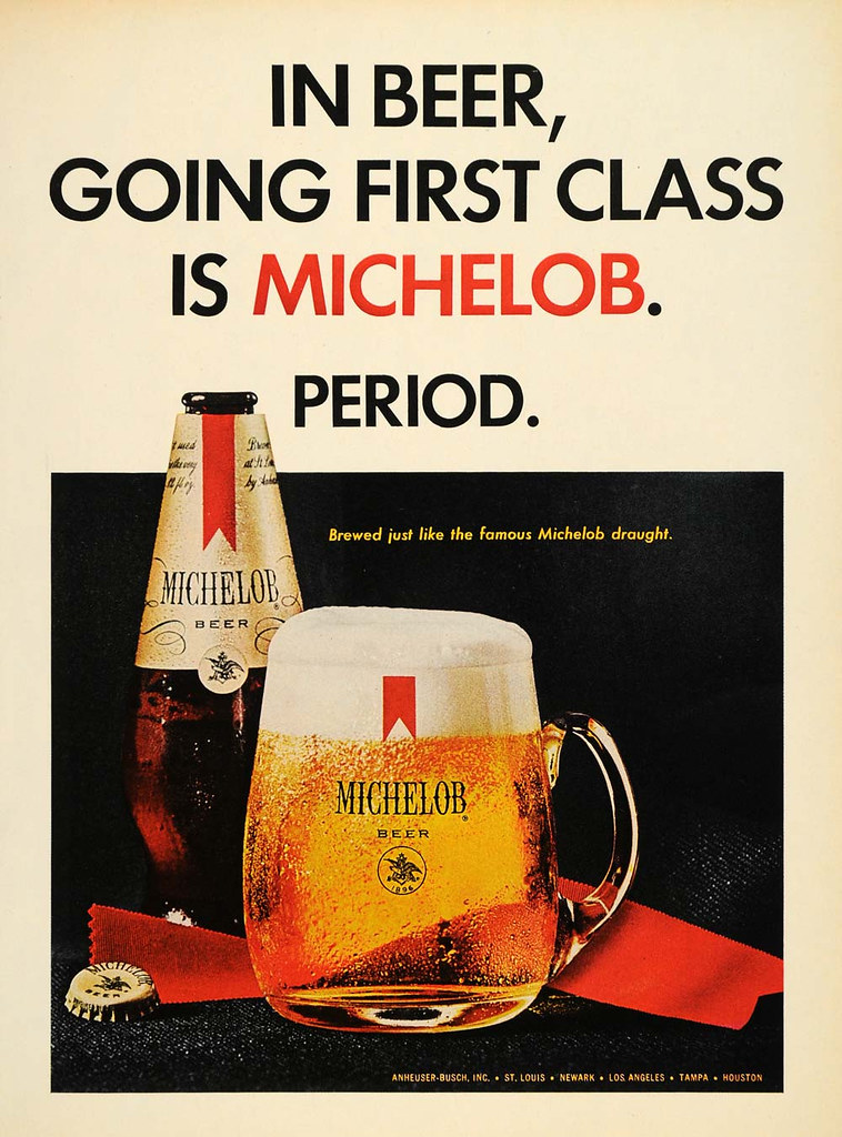 Michelob-1967-firstclass