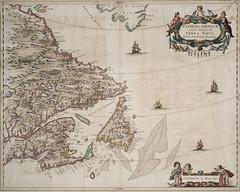 Extrema Americae versus boream, ubi Terra Nova, Nova Francia, adjacentiag