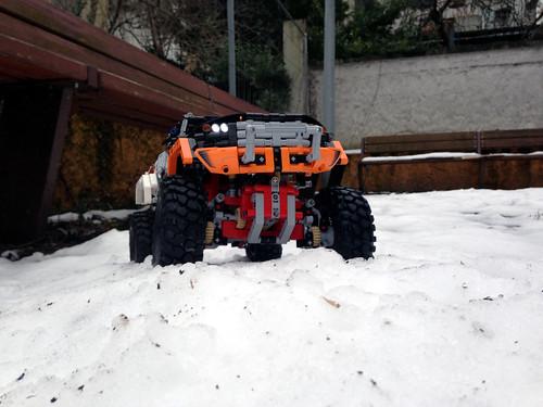 SBrick crawling on the snow