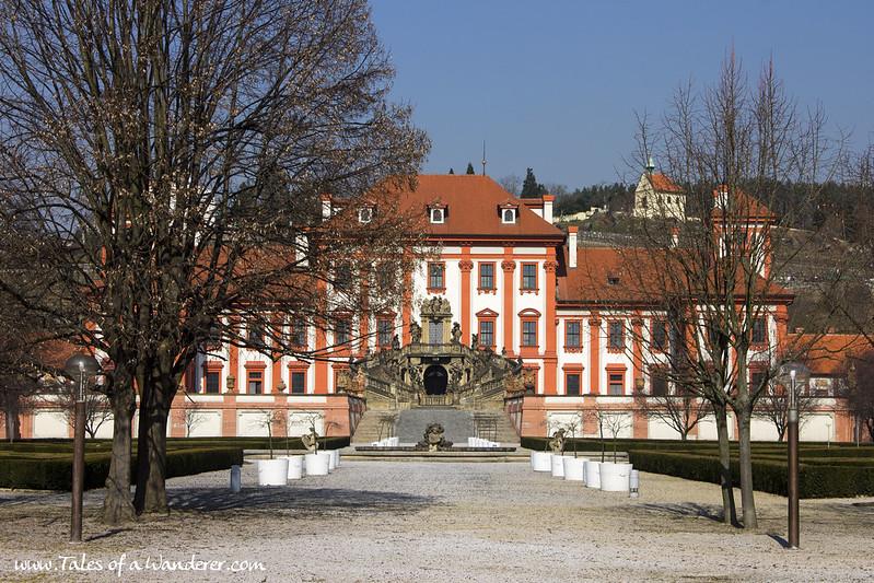 PRAGA - Trojský zámek