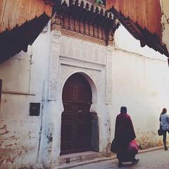 Just around Medina #Fes
