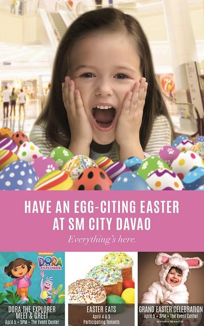 Dora the Explorer at SM Davao's Easter Playground