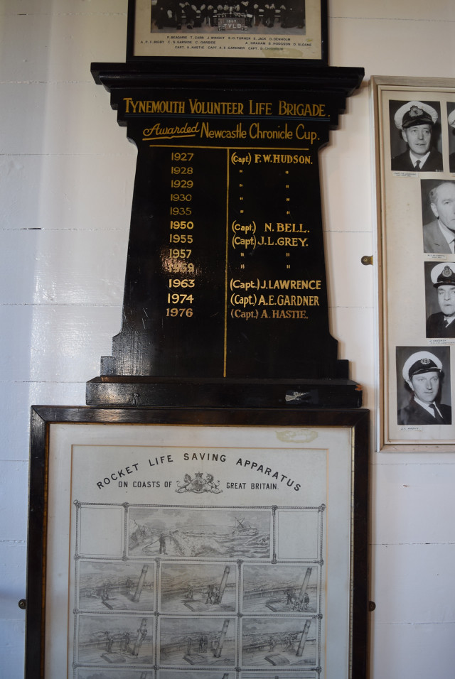 Tynemouth Volunteer Life Brigade Souveneers Roster