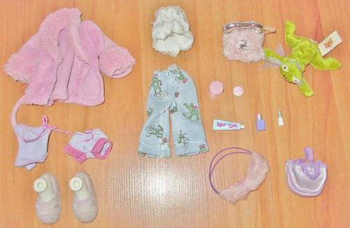 2002 & 2003 Slumber Party Yasmin Outfits & Accessories