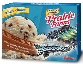 Thunderbird Ice Cream at Holiday World