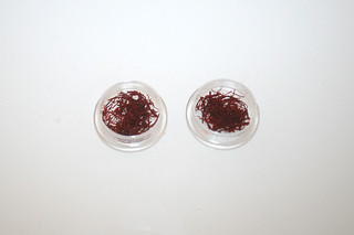 06 - Zutat Safran / Ingredient saffron