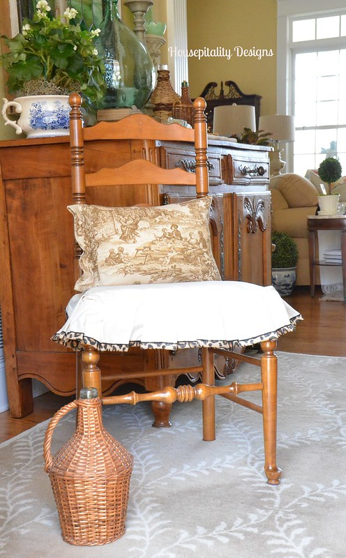 Chair Slipcover-Housepitality Designs
