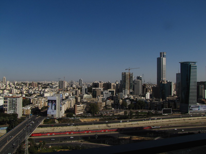 Tel Aviv from 19 floors up