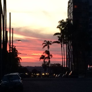 San Diego sunset