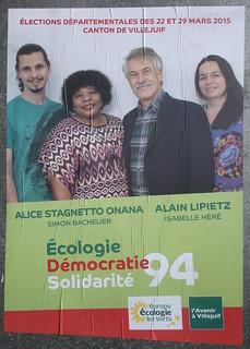 Alain Lipietz - Alice Stagnetto Onana