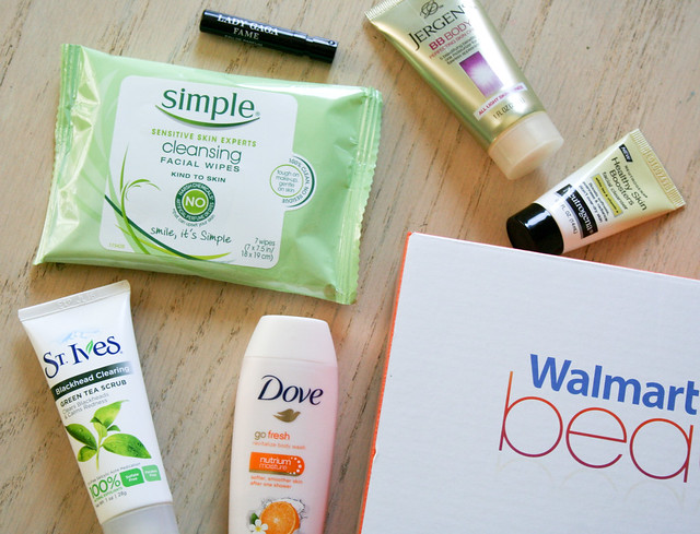Walmart Beauty Box review Spring 2015 | yourwishcake.com