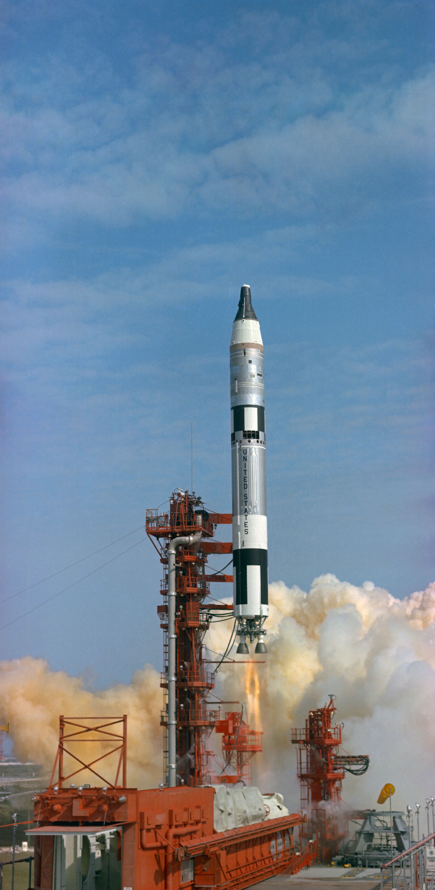 IMarch 23, 1965 Launch of First Crewed Gemini Flight